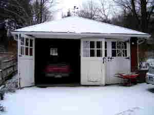 garage doorsbefore