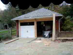 garage doorsduring