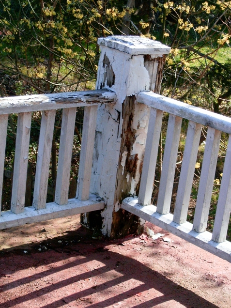 typical post and rail